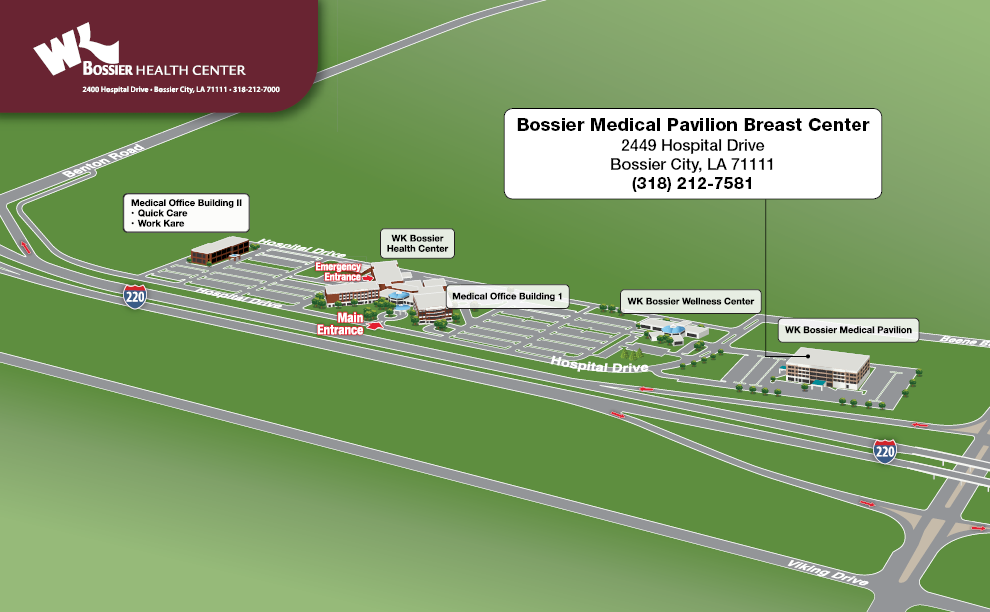 Bossier Medical Pavilion Breast Center