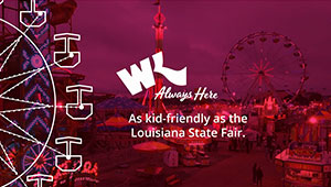 As kid-friendly as the Louisiana State Fair